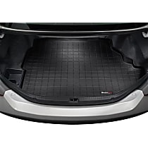 40739 Weathertech DigitalFit Cargo Mat - Black, Thermoplastic, Molded Cargo Liner, Direct Fit, Sold individually