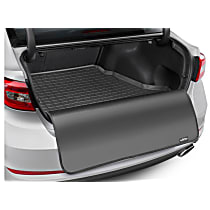 40842SK Weathertech CargoTech Cargo Mat - Black, Made of Rubber, Molded Cargo Liner