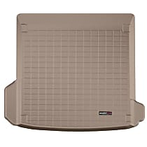 411236 Cargo Liner Series Cargo Mat - Tan, Made of Rubber, Molded Cargo Liner, Sold individually