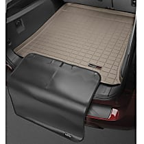 Weathertech CargoTech 411249SK Cargo Mat - Tan, Made of Rubber, Molded Cargo Liner