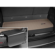 Weathertech Cargo Liner 411330SK Cargo Mat - Tan, Made of Rubber, Molded Cargo Liner, Direct Fit, Sold individually