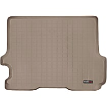 41188 Weathertech DigitalFit Cargo Mat - Tan, Thermoplastic, Molded Cargo Liner, Direct Fit, Sold individually