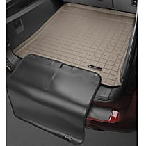 Weathertech CargoTech Cargo Mat - Tan, Made of Rubber, Molded Cargo Liner