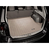 41852 Weathertech DigitalFit Cargo Mat - Tan, Thermoplastic, Molded Cargo Liner, Direct Fit, Sold individually