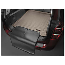 41852SK Cargo Liner Series Cargo Mat - Tan, Made of Rubber, Molded Cargo Liner, Sold individually