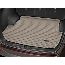 41891 Weathertech DigitalFit Cargo Mat - Tan, Thermoplastic, Molded Cargo Liner, Direct Fit, Sold individually