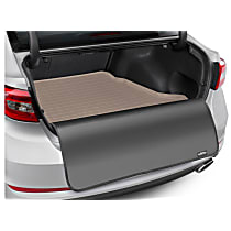 41891SK Cargo Liner Series Cargo Mat - Tan, Made of Rubber, Molded Cargo Liner, Sold individually