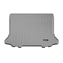 421219 Cargo Liner Series Cargo Mat - Gray, Made of Rubber, Molded Cargo Liner, Direct Fit, Sold individually