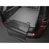 421236SK Weathertech Cargo Liner Cargo Mat - Gray, Made of Rubber, Molded Cargo Liner, Direct Fit, Sold individually