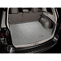 42852 Weathertech DigitalFit Cargo Mat - Gray, Thermoplastic, Molded Cargo Liner, Direct Fit, Sold individually
