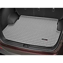 42891 Weathertech DigitalFit Cargo Mat - Gray, Thermoplastic, Molded Cargo Liner, Direct Fit, Sold individually