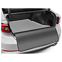 42891SK Cargo Liner Series Cargo Mat - Gray, Made of Rubber, Molded Cargo Liner, Sold individually