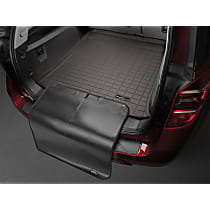 431255SK Weathertech Cargo Liner Cargo Mat - Cocoa, Made of Rubber, Molded Cargo Liner, Direct Fit, Sold individually