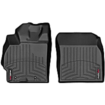 4411731 Black Floor Mats, Front Row