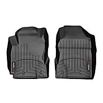 4411951 Black Floor Mats, Front Row
