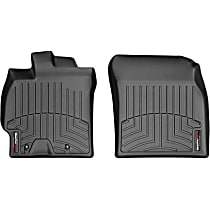 441381 Black Floor Mats, Front Row
