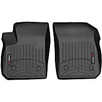4415011 Black Floor Mats, Front Row
