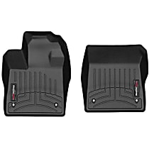 4415131 Black Floor Mats, Front Row