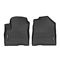 4415141 Black Floor Mats, Front Row