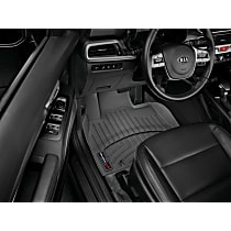 4415321 Black Floor Mats, Front Row