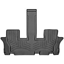 4415323 Black Floor Mats, Third Row