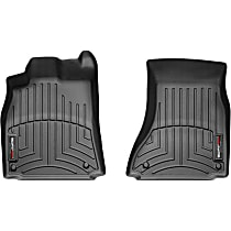442121 Black Floor Mats, Front Row