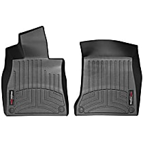 445711 Black Floor Mats, Front Row