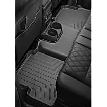 445713 Black Floor Mats, Second Row
