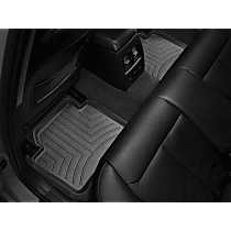 449072 Black Floor Mats, Second Row