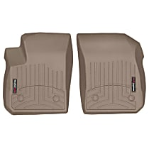 4515011 Tan Floor Mats, Front Row