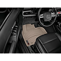 4515321 Tan Floor Mats, Front Row