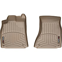 452121 Tan Floor Mats, Front Row