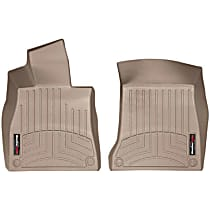 455711 Tan Floor Mats, Front Row