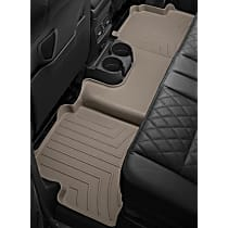 455713 Tan Floor Mats, Second Row