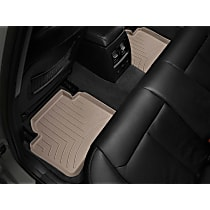 459072 Tan Floor Mats, Second Row