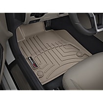459371 Tan Floor Mats, Front Row