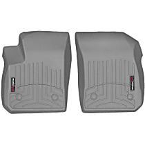 4615011 Gray Floor Mats, Front Row