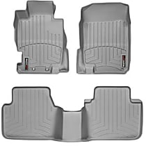 Gray Floor Mats, Second Row