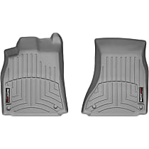 462121 Gray Floor Mats, Front Row