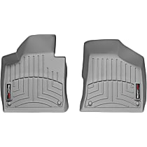 Gray Floor Mats, Front Row
