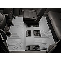 Gray Floor Mats, Second And Third Row