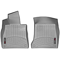 465711 Gray Floor Mats, Front Row