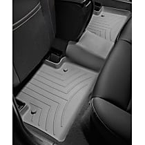 465713 Gray Floor Mats, Second Row