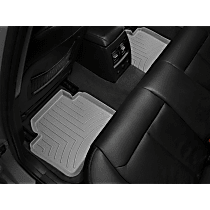 469072 Gray Floor Mats, Second Row