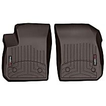 Dark Brown Floor Mats, Front Row