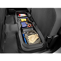 Weathertech 4S007 Cargo Organizer - Black, Thermoplastic, Direct Fit