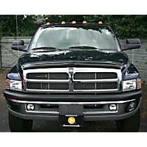 50055 Weathertech Easy-on Smoke Bug Shield, Automotive Grade Tape Attachment Style
