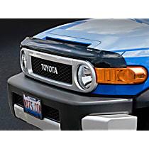 50163 Weathertech Easy-on Smoke Bug Shield, Automotive Grade Tape Attachment Style