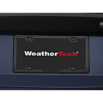 Weathertech License Plate Frame - 61020 - Black, ABS Plastic, Universal, Sold individually