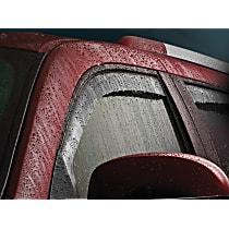 70006 Smoke Window Visor, Front, Driver and Passenger Side - Set of 2